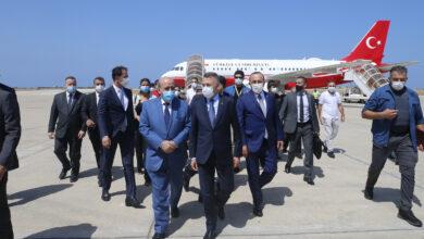 Photo of نائب أردوغان، يزور لبنان ويؤكد استعداد بلاده إعادة إعمار مرفأ بيروت والمباني المجاورة له.