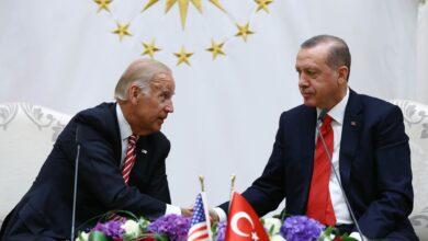 "Photo of لقاء بين أردوغان وبايدن على هامش قمة ""الناتو"" في بروكسل (فيديو)"