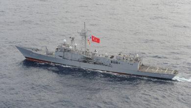 """Photo of فرقاطة """"TCG Gediz"""" التركية تنقذ 80 مهاجراً شرقي المتوسط"""