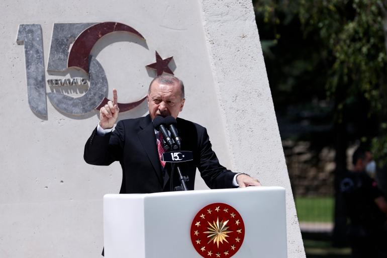 أردوغان: لا يمكن ترحيل اللاجئين السوريين إلى بلادهم إذا لم يكن طوعاً وبشكل آمن