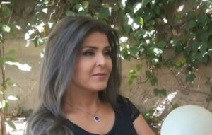 الفنانة السورية هناء نصور